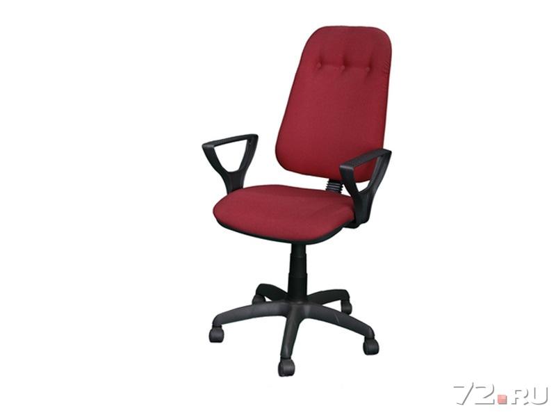Офисные кресла   коричневого цвета