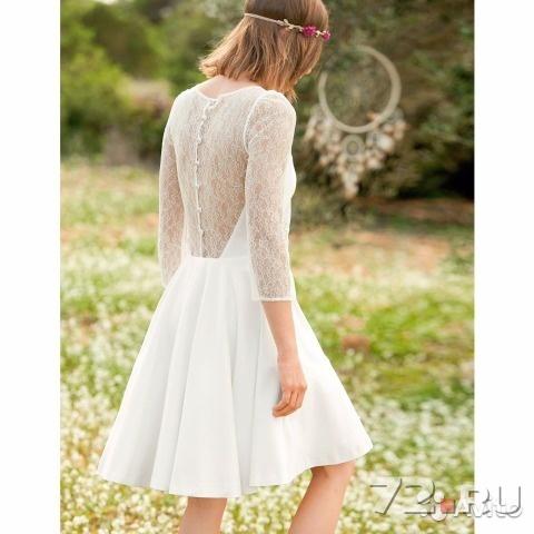Платье свадебное короткое тюмень