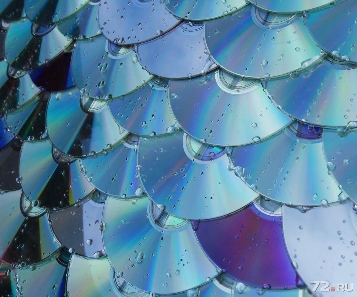 Поделки из дисков двд для дачи