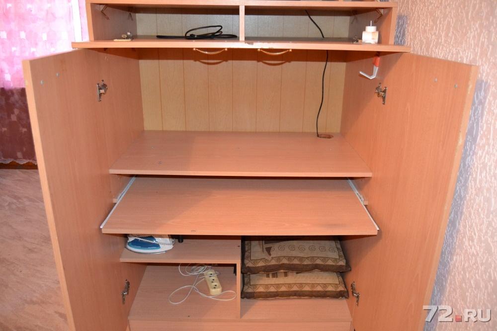 Продам компьютерный стол потайной б/у, фото. цена - 1000.00 .