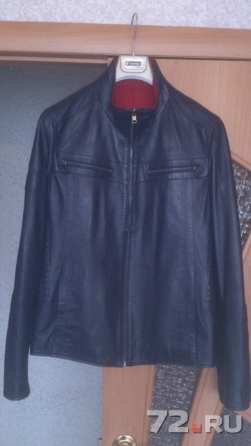 Куртка кожаная denver