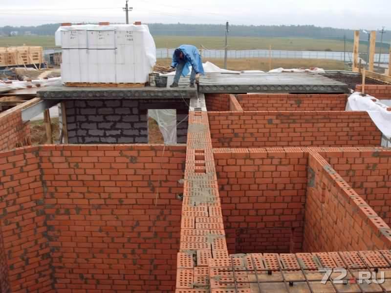 Построить кирпичный дом своими руками цена