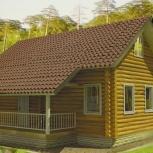 Уютный дома из оцилиндрованного бревна, Тюмень