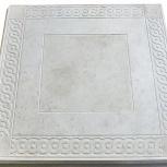 Плитка тротуарная Восток Вибролитая 500х500х56 Сер, Тюмень
