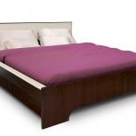 """Кровать каркасная 200x160 """"домино"""" венге, Тюмень"""