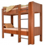 Кровать двухъярусная кр-2х2 орех, Тюмень
