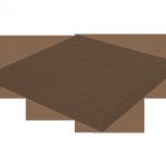 Тротуарная плитка Колодец 300х300х30 Коричневая, Тюмень