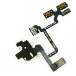 Шлейф боковой iPhone 4 с разъемом под наушники и кнопками громкости, Тюмень