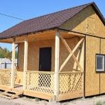 Каркасный домик с зимним утеплением 22,5 кв.м., Тюмень