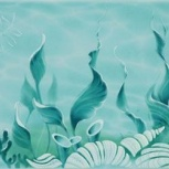 Плитка Декор Alma Ceramica 364х249 Голубой, Тюмень
