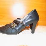 Туфли новые кожаные р-р 35, Тюмень