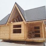 Дом/баня из профилированного бруса, Тюмень