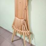 Кресло складное из массива сосны, Тюмень