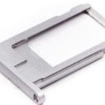 Лоток сим (SIM) карты iPhone 6S Plus белый/серебристый, Тюмень