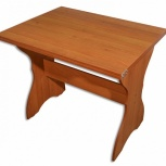 Стол с ломберными петлями орех 4, Тюмень