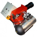 Горелка на отработанном масле AL-50V (200-550 кВт) для котла, Тюмень