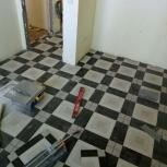 Укладка плитки, ремонт квартир, обшивка балконов, Тюмень