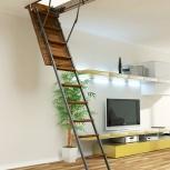 Чердачная лестница, Тюмень