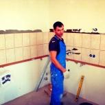 Ремонт ванной комнаты, ремонт и отделка квартир, плиточник Тюмень, Тюмень