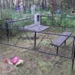 оградка на могилу, Тюмень