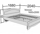 Кровать каркасная вишня 2х10, Тюмень