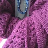 платок, связанный крючком, Тюмень