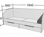 Кровать юниор ясень, Тюмень