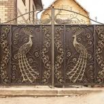 Кованые ворота, перила, оградки, Тюмень