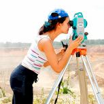 Видео-курс по геодезии. Работа с тахеометром, Тюмень