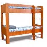 Кровать двухъярусная кр-2х2 вишня, Тюмень