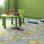 Линолеум для  детской комнаты, яркий, качественный, Тюмень