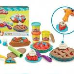 Ягодные тарталетки набор для лепки Play-Doh от Hasbro, Тюмень