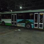 Размещение рекламы на автобусах, Тюмень