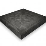 Тротуарная плитка ЭКТ Краковская 300х300х30 Черный, Тюмень