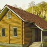 Уютный дом из оцилиндрованного бревна, Тюмень