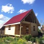 Дачный дом из профилированного бруса, Тюмень