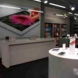 Столы, стеллажи, подиум для  «iPhone», оборудование iStore, Тюмень