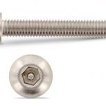 Винт 8х20 антивандальный ART 9111 с полукруглой головкой, Тюмень
