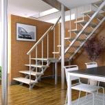 Готовые бюджетные лестницы для дачи, Тюмень