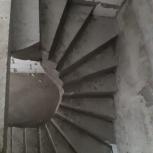 Крыльцо/Лестницы из бетона в Тюмени. Монолитные лестницы / крылечки, Тюмень