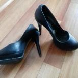 Туфли, натур. кожа, набойки целые, в отличном состоянии, чистые, Тюмень