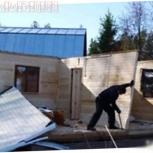 Демонтаж (снос) старых частных и дачных домов, Тюмень