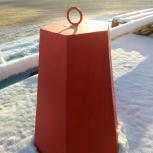 Столбик бетонный шестигранный, Тюмень