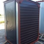 Туалет уличный металлический, Тюмень