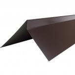Планка торцевая полиэстер Технониколь RAL 8017 кор, Тюмень