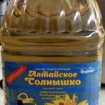 Масло подсолнечное рафинированное высший сорт ГОСТ, Тюмень
