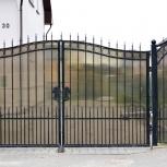 Кованые ворота, кованые заборы, садовые ограждения в Тюмени, Тюмень