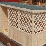Деревянный домик-беседка 5 м х 2,45 м., Тюмень