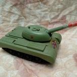 Танк, ретро-игрушка, Тюмень