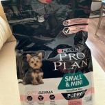 Корм Pro Plan для щенков мелких пород лосось рис 3 кг, Тюмень